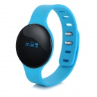 "SW102 0.68"" Screen Bluetooth V4.0 Smart Watch Wristband Bracelet w/ Sports / Sleep Tracking - Blue"