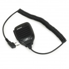Handheld Walkie Talkie Microphone for Baofeng UV-5R / UV-5RA / UV-5RE / UV-5RB / UV-5RD - Black