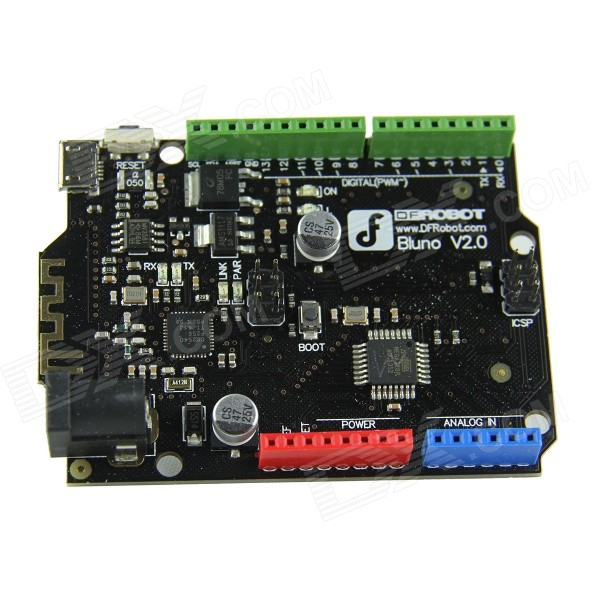 Bluno integrado Bluetooth 4.0 Controller Board para Arduino, Android, iOS - Negro