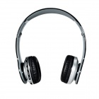 Foldable On-ear Wireless Stereo Bluetooth Headphones Headset - Black