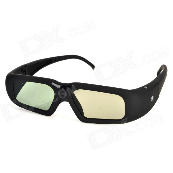 SG08-BT 3D Active Shutter Glasses w/ Bluetooth for 3D Projector / TV - Black sg08 dlp 3d shutter glasses for dlp link projector black