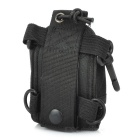 Nylon Cover Case w/ Buckle + Triangle Strap for BaoFeng UV-5R - Black