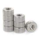DIY M3 Screw Nut for Water-cooled Heat Sink - Silver (8pcs)