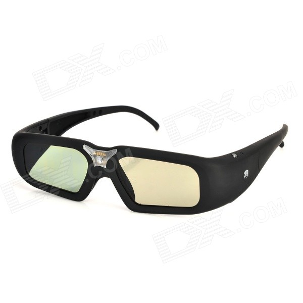 SG08-DLP 3D Shutter Glasses for DLP-link Projector - Black sg08 dlp 3d shutter glasses for dlp link projector black
