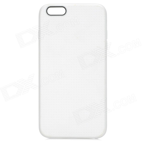Protective TPU Back Case for IPHONE 6 PLUS - White rendell r dark corners
