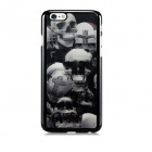 "3D Skulls Pattern Protective PC Back Case for IPHONE 6 4.7"" - Black + Grey + Multi-Color"