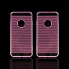 "Angibabe Straight Line Acrylic + TPU Back Case for IPHONE 6 4.7"" - Pink"