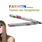 LOOF Professional Mini PVC Hair Straightener - White + Red (EU Plug / 220~240V)