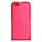 "Cool 360 Degree Rotation Protective PU + TPU Case w/ Stand for IPHONE 6 4.7"" - Deep Pink"