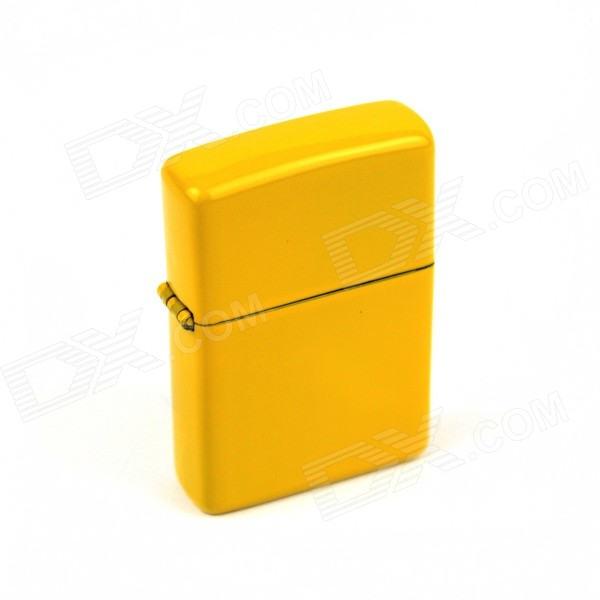 Retro Luxurious Kerosene Lighter - Yellow