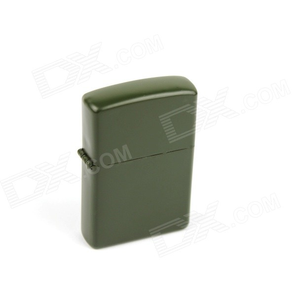 Retro Luxurious Kerosene Lighter - Army Green