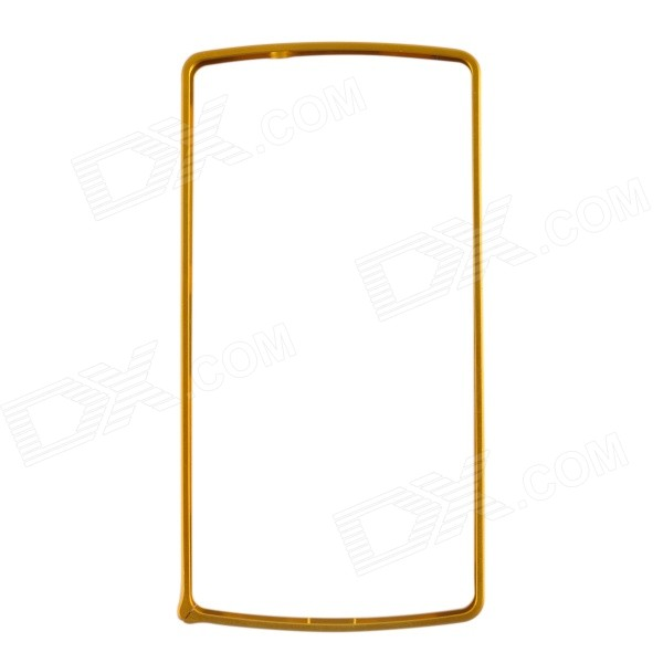 0.7mm Ultra-thin Protective Aluminum Bumper Frame for LG Nexus 5 - Golden tama pw620