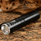 UltraFire Q9 400lm 3-Mode White Zooming Flashlight w/ Cree XP-E Q5 - Black (1 x 14500)
