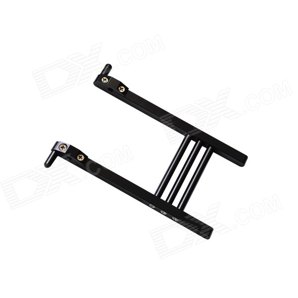 Aluminum Alloy Radio Transmitter Stand for DEVO7 / DEVO10 Transmitter Radio - Black