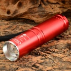 UltraFire Q9 400lm 3-Mode White Zooming Flashlight w/ Cree XP-E Q5 - Red (1 x 14500)