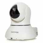 "Camnoopy CN-PT100-B P2P 1/4"" CMOS 1.0MP Home Smart Pan / Tilt IP Camera w/ 2-IR-LED / Wi-Fi - White"