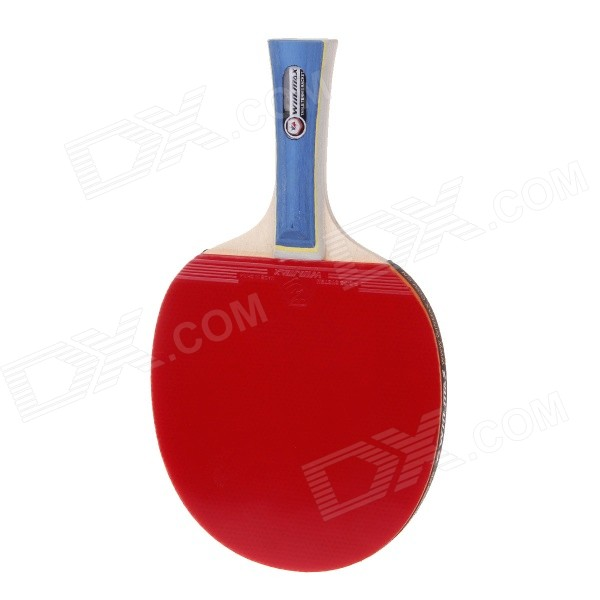 Winmax WMY52385Z1 Professional-quality 2-Star Long Handle Table Tennis Racket Bat - Red + Black beko wmy 91443 lb1