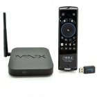 Minix NEO X6 + Mele F10 Pro Air Mouse Quad-Core Android 4.4.2 Satelitní TV Player w / 1 GB RAM, 8 GB. ROMu