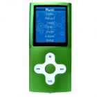 "HOTT MU820 1.8"" TFT Sporting MP3 MP4 Player w / FM / Voice Recorder - Green (4GB)"
