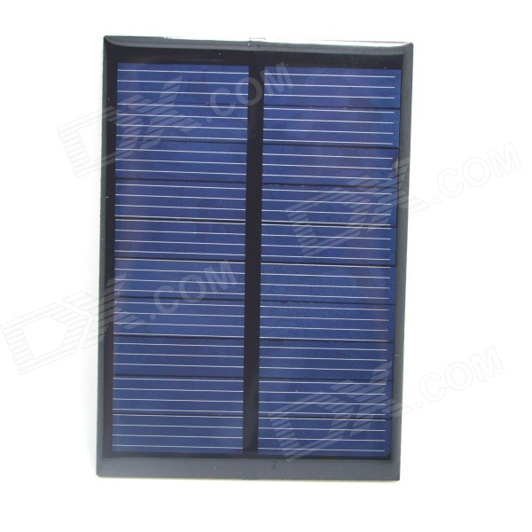 где купить WN-11 1W 5V 180mA Solar Power Panel - Black + Light Blue (99 x 69mm) по лучшей цене