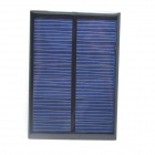 WN-11 1W 5V 180mA Solar Power Panel - Black + Light Blue (99 x 69mm)