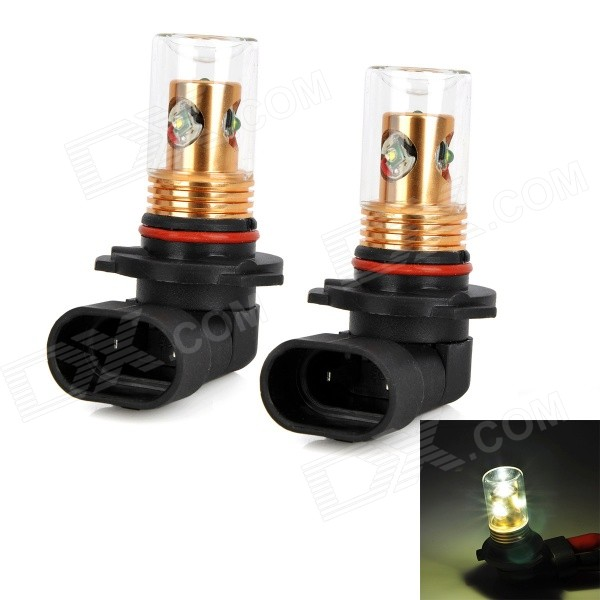 Zweihnder 9005 20W 1900LM 6500K White Light Reversing Lamp Bulb w/ 4xCree XP-E for Car (12-24V,2PCS)