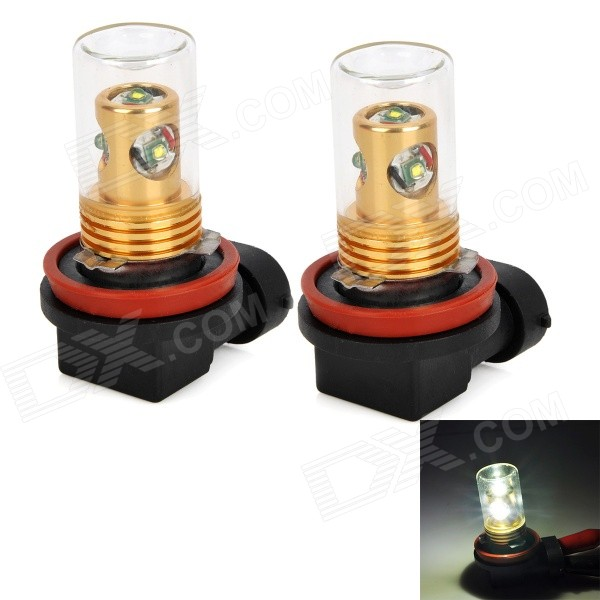 Zweihnder H8 20W 1900LM 6500K 4 xCree XP-E White Light Car Reversing Lamp (12~24V / 2 PCS)