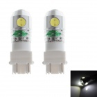 Zweihnder 3157 15W 1900LM 6500K 4 x LED White Light Reversing Lamp Bulb for Car (12-24V,2 PCS)