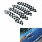 Carking Grid Pattern ABS UV Protected Door Handle Cover for Mini Cooper Countryman (4 PCS)