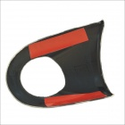 Carking DIY ABS Volante Covers Etiquetas para BMW Mini Cooper - Vermelho + azul + Multi-Color