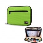 Multifunction Large Capacity Storage Bag for IPAD MINI Digital Accessories - Green