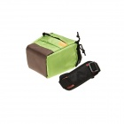 Mini New F001-GN One-shoulder Camera Bag - Green + Black