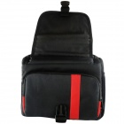 nailon FF066-RD gran tamaño SLR Camera Bag-rojo