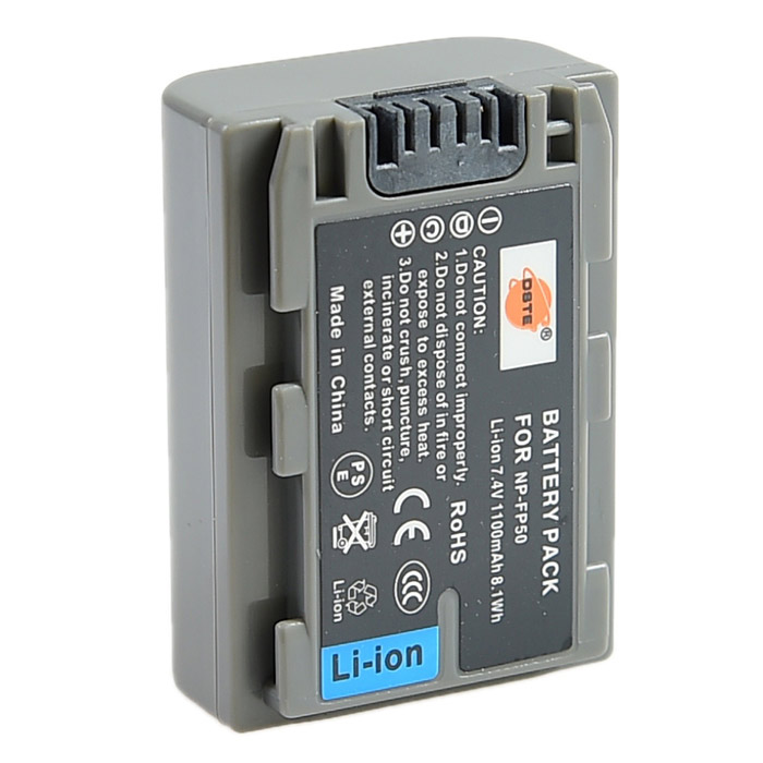 DSTE NP-FP50 Battery + US Plug DC04 Charger for Sony DCR-HC21E HC22E SR80 Camera dste bp88b аккумулятор для samsung mv900 mv900f цифровая камера