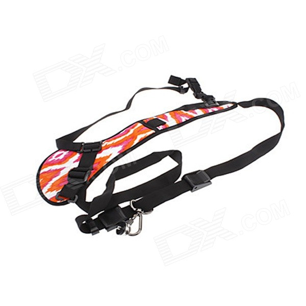 New I-RW Quick Strap Shoulder Strap for SLR/DSLR Cameras - Red and White Camouflage (30~120cm) universal quick shoulder strap for slr dslr cameras grey