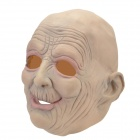 SYVIO Men's Fun Old Man Style Rubber Mask for Halloween / Cosplay / Costume Party - Cream