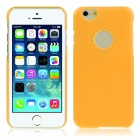 "Hat-Prince Heart-Shape Camera Hole Protective Plastic Back Case for IPHONE 6 4.7"" - Yellow"