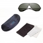 Reedoon SK500 Men's Resin Lens UV400 Polarized Driving Sunglasses - Gun Gray