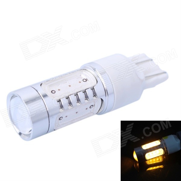T20 (7440/ 7443/) 7.5W 400LM Yellow LED Steering / Tail Lamp / Signal Lamp for Car (DC10-24V)