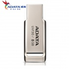 ADATA UV130/8G Mini Portable USB 2.0 Flash Drive - Silver (8GB)