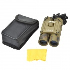 JinjuLi 12X25 Waterproof FMC Green Film + Blue Film HD 12X Binoculars Telescope