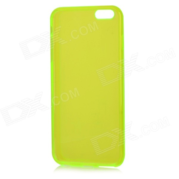 Protective TPU Back Case Cover for IPHONE 6 PLUS - Light Fluorescent Green iface mall for iphone 6 plus 6s plus glossy pc non slip tpu shell case black