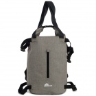 OQsport Outdoor Sports Waterproof Frameless TPU Backpack - Grey + Black + Multi-Color (16L)