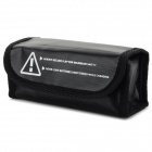 Anti-explosion Lithium Battery Protective Storage Bag for R/C Toy - Black
