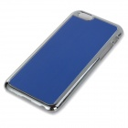 "Protetor de plástico + Alloy Alloy Wiredrawing Back Case para IPHONE 6 4.7 ""- Azul"