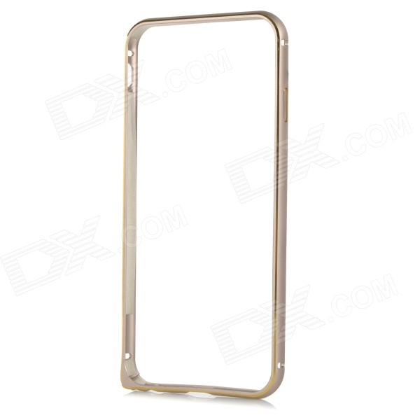 Protective Aluminum Alloy Bumper Frame Case for IPHONE 6 4.7 - Champagne + Golden protective aluminum alloy bumper frame for iphone 6 black golden