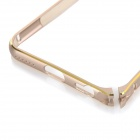 "Protective Aluminum Alloy Bumper Frame Case for IPHONE 6 4.7"" - Champagne + Golden"