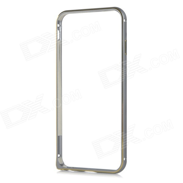 Protective Aluminum Alloy Bumper Frame Case for IPHONE 6 4.7 - Grey + Golden protective aluminum alloy bumper frame for iphone 6 black golden
