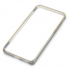 "Protective Aluminum Alloy Bumper Frame Case for IPHONE 6 4.7"" - Grey + Golden"