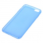 "Ultra Thin Protective TPU Back Case Cover for IPHONE 6 PLUS 5.5"" - Blue + Translucent"